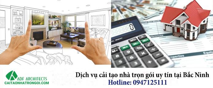 Dịch vụ cải tạo nhà trọn gói tại Bắc Ninh