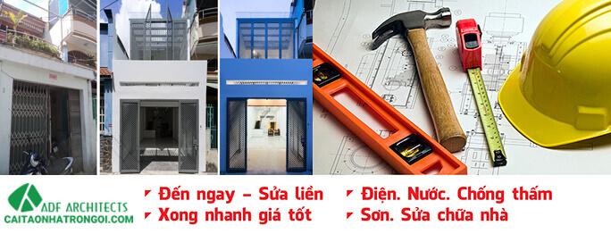 Bảng báo giá dịch vụ sửa chữa nhà trọn gói uy tín